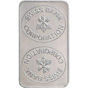 100g Platinum Bar Back