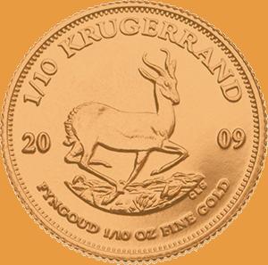 1/10 krugerrand gold coil