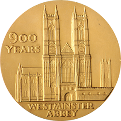1966-Westminster-Abbey-900th-Anniversary-Medallion-Front