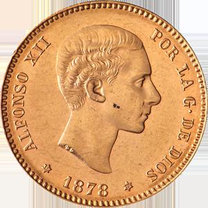 25-Pesetas-Gold-Coin-Back