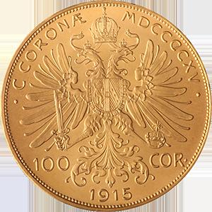 Austrian-100-Corona-Gold-Coin-Front