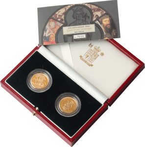 Sovereign Gold Coin Set