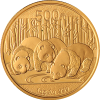 Chinese-Panda-1oz-Gold-Coin-Front
