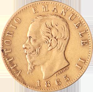 Italian-20-Lire-Gold-Coin-Back
