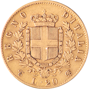 Italian-20-Lire-Gold-Coin-Front