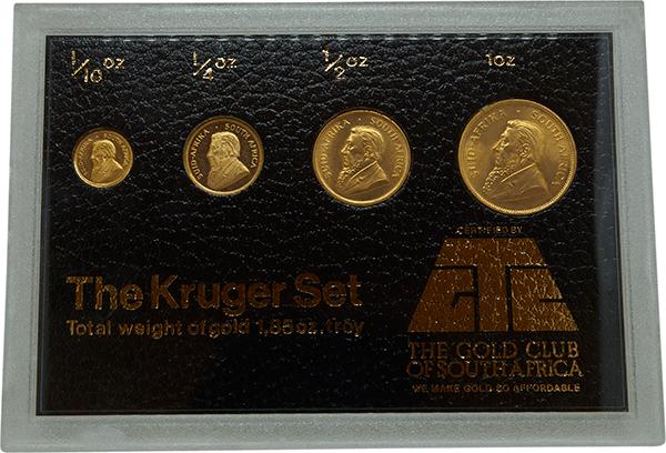 Krugerrand Gold Coin Set