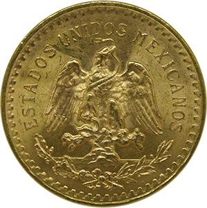 Mexican 50 pesos back