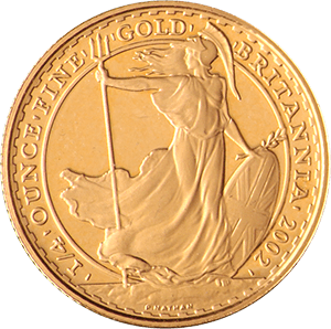 Quarter-Ounce-Britannia-Front