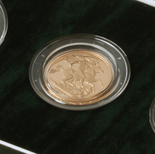 Sovereign Set (4 Coins)