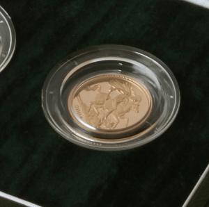 Sovereign Set (£5,£2, Sov, 1/2 Sov)