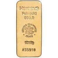 heraeus 1kg gold bar