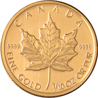 tenth-oz-Maple-Leaf-Front