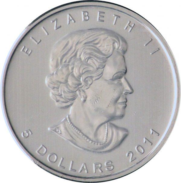 1 Ounce Silver Maple Back