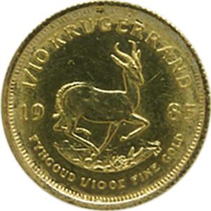 10th-ounce-Krugerrand