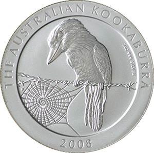 Australian-2oz-Silver-Kookaburra-Coin-Front