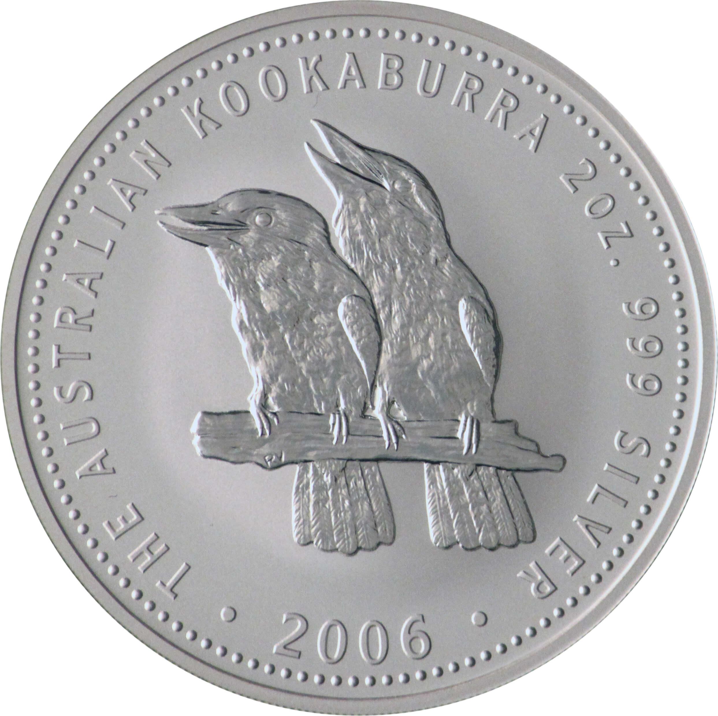 Australian 2oz Silver Kookaburra Gold Investments