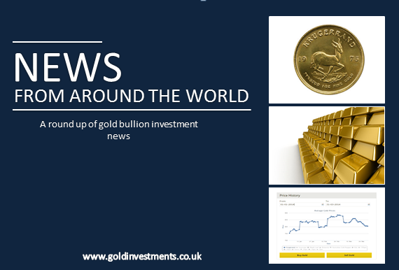 Around The World - Investing In Gold - 1 May 2015
