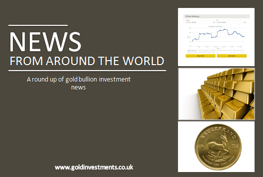 Gold News From Around The World: August 2015