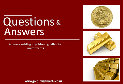 Gold Price: Questions And Answers