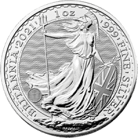 1oz Silver Britannia (2021)