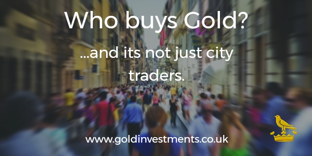 Who buys gold? It's not just city traders...