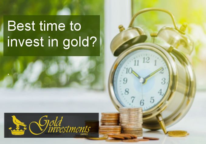 is now a good time to invest in gold