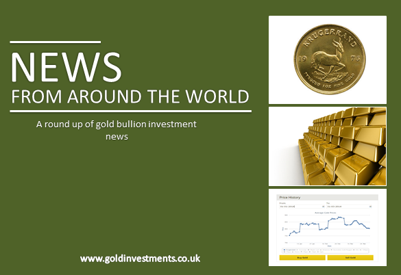Gold prices hit 33-month high