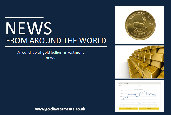 Gold News From Around The World: 16th June 2017