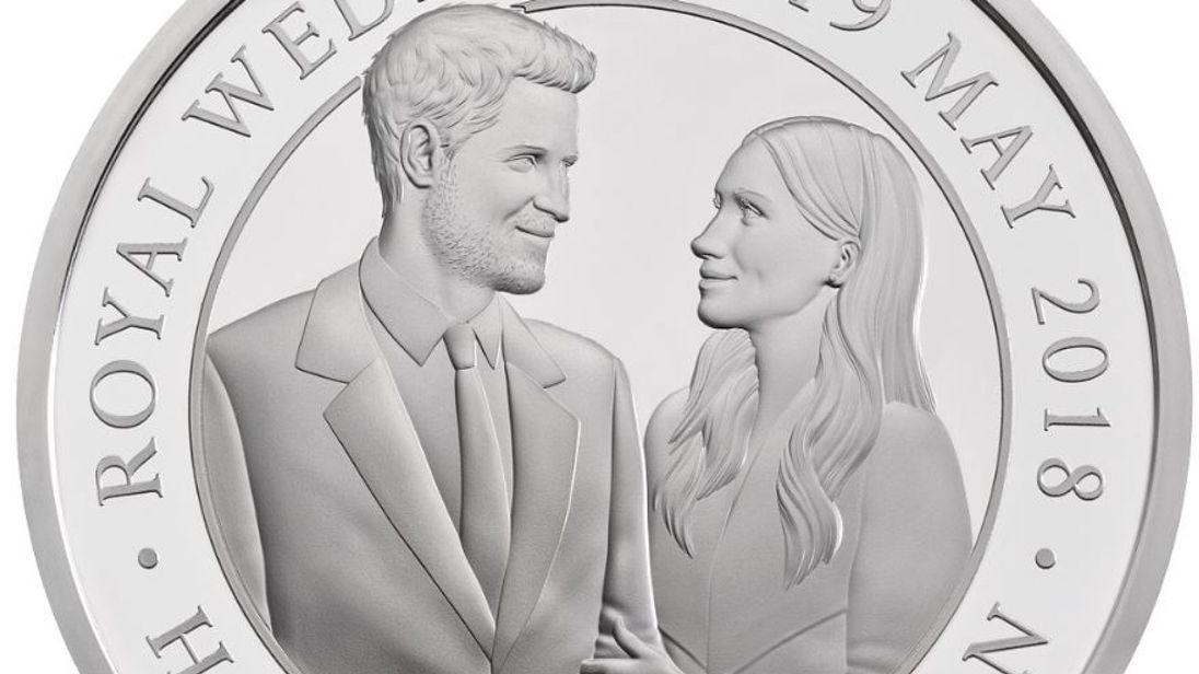 Coin released to commemorate royal wedding