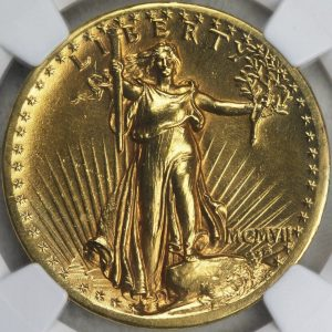 Saint-Gaudens Double Eagle 1907
