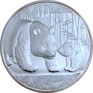 Chinese Silver Panda Silver Coin