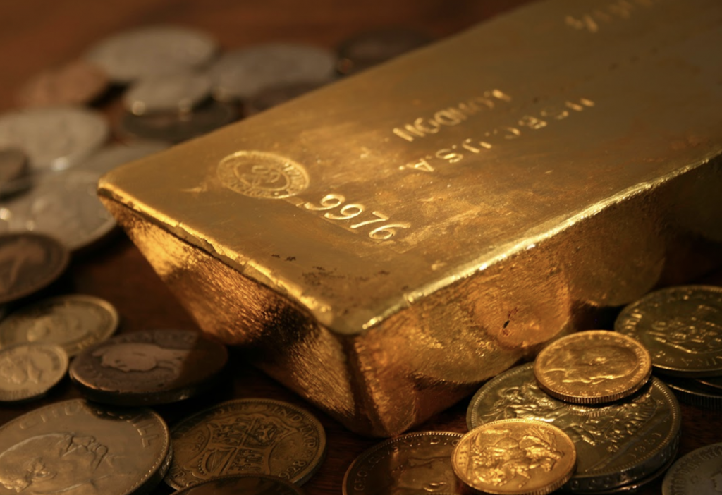 investment gold coins and bullion